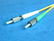 DIN fiber optic patch cord